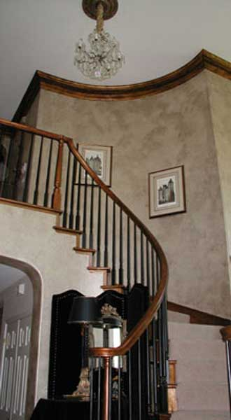 Curved Banister