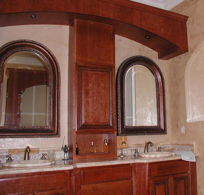 Arched Cabinet